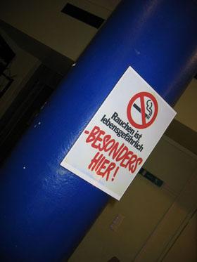 Rauchfreies Feiern